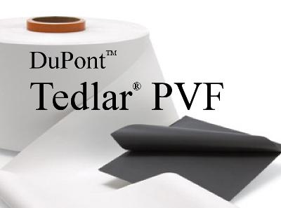 DuPont traded trade mark : Tedlar.